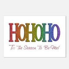 Unique Gay holiday Postcards (Package of 8)