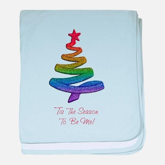 Cute Gay pride baby blanket