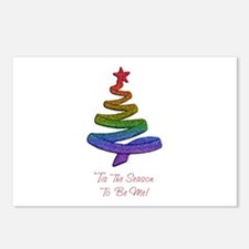 Funny Gay holiday Postcards (Package of 8)