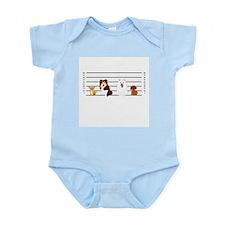 Doggie Lineup Infant Bodysuit