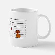 Doggie Lineup Mug