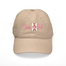 Flower Girl Bear Baseball Cap