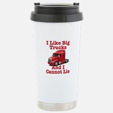 I Like Big Trucks Peterbilt Stainless Steel Travel