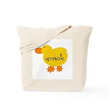 Quack the Duck Tote Bag