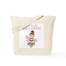 Brunette Little Ballerina Tote Bag