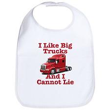 I Like Big Trucks Peterbilt Bib