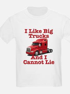 I Like Big Trucks Peterbilt T-Shirt