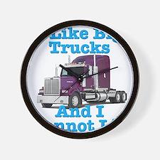 I Like Big Trucks Western Star Wall Clock