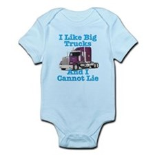 I Like Big Trucks Western Star Onesie