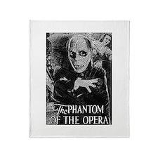 Phantom of the Opera Throw Blanket