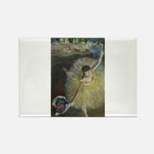End of an Arabesque by Edgar Degas Magnets