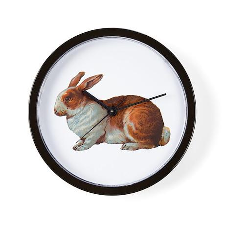 Pet Rabbit Wall Clock