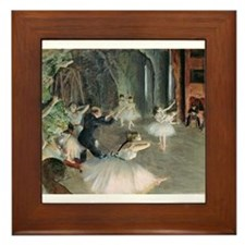 Cute Edgar degas Framed Tile