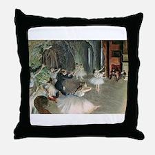 Cool Edgar degas Throw Pillow