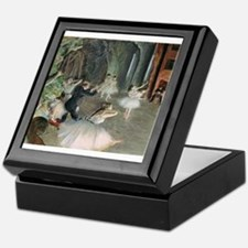 Cute Impressionist art Keepsake Box