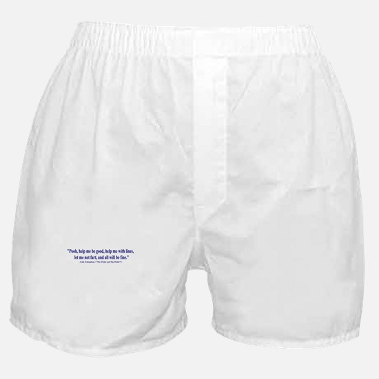 The Tickle and The Pickle Boxer Shorts