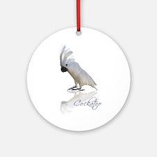 cockatoo Ornament (Round)