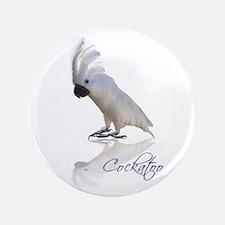 """cockatoo 3.5"""" Button"""