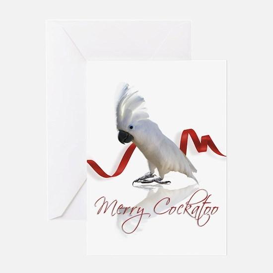 merry cockatoo Greeting Card