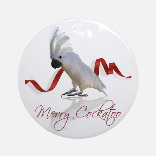 merry cockatoo Ornament (Round)