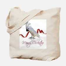 merry cockatoo Tote Bag