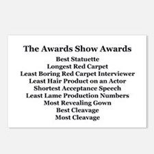 Awards Show Awards Postcards (Package of 8)