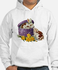 Easter Bunnies (Front) Jumper Hoody
