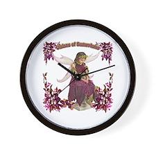 Visions of Sugarplums Wall Clock