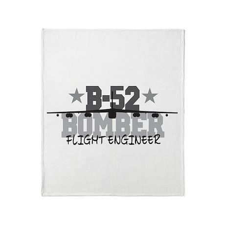 B-52 Aviation Flight Engineer Throw Blanket