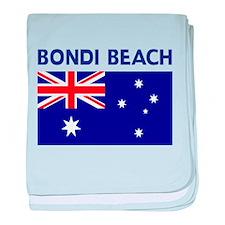 LOST Bondi Beach baby blanket
