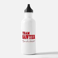 TEAM SAWYER with SOB Water Bottle