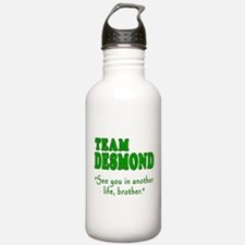 TEAM DESMOND with Quote Water Bottle