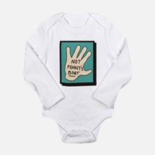 Not Penny's Boat LOST Long Sleeve Infant Bodysuit