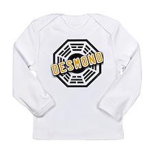 Unique Dharma initiative Long Sleeve Infant T-Shirt