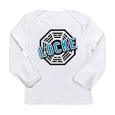 Funny Dharma initiative Long Sleeve Infant T-Shirt