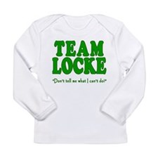 TEAM LOCKE with Quote Long Sleeve Infant T-Shirt
