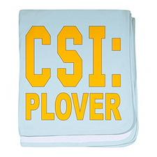 CSI Plover baby blanket