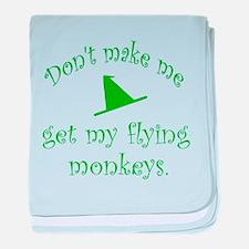 Flying Monkeys baby blanket
