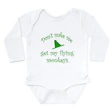 Flying Monkeys Long Sleeve Infant Bodysuit