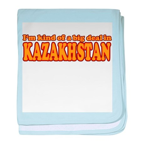 Funny Kazakhstan baby blanket
