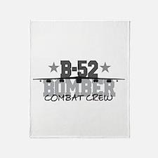 B-52 Aviation Combat Crew Throw Blanket