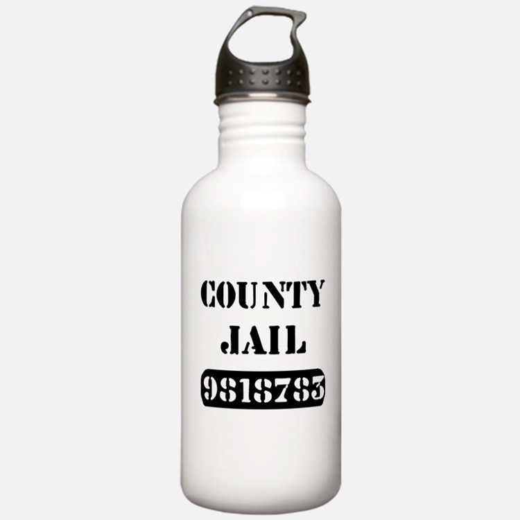 Cute Prison Water Bottle
