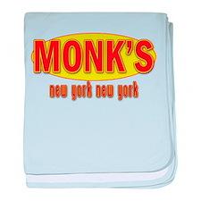Seinfeld: MONK'S Restaurant baby blanket