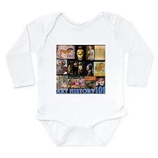 Art History 101 Long Sleeve Infant Bodysuit