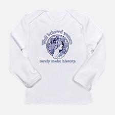 wellbehavedwomenblue Long Sleeve T-Shirt