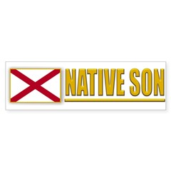 Alabama Native Son Bumperstickers (10pk)
