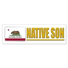California Native Son Bumpersticker