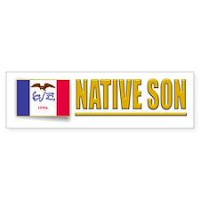 Iowa Native Son Bumpersticker