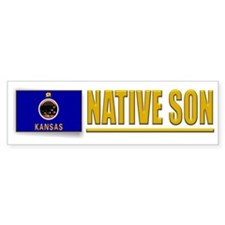 Kansas Native Son Bumpersticker