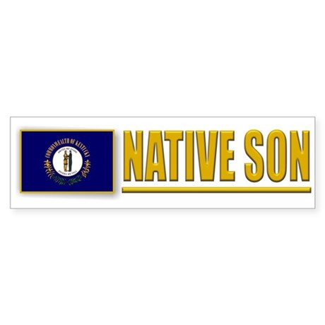 Kentucky Native Son Bumpersticker